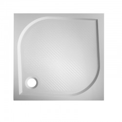 Čtvercová mramorová sprchová vanička BURGAS