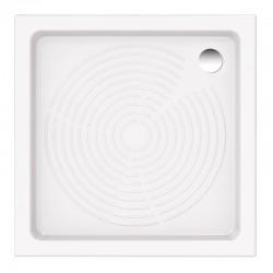 Keramická čtvercová sprchová vanička ASTRO