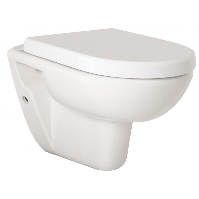 Závěsné WC COMPACT - Bez sedátka