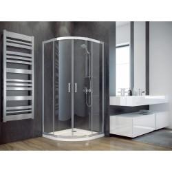Sprchový čtvrtkruhový kout MODERN 185