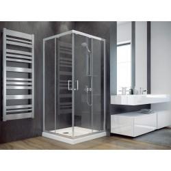 Čtvercový sprchový kout MODERN 185