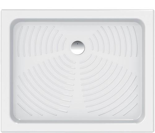 Keramická obdélníková sprchová vanička STELLA