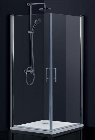 Obdélníkový a čtvercový sprchový kout SINTRA