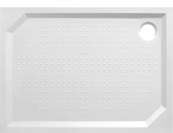 Obdélníková mramorová sprchová vanička MARBEL PLOVDIV II