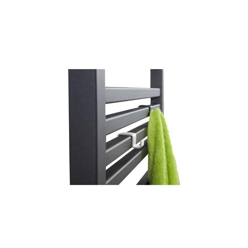 Háček pro koupelnový radiátor HS3 - Bílá