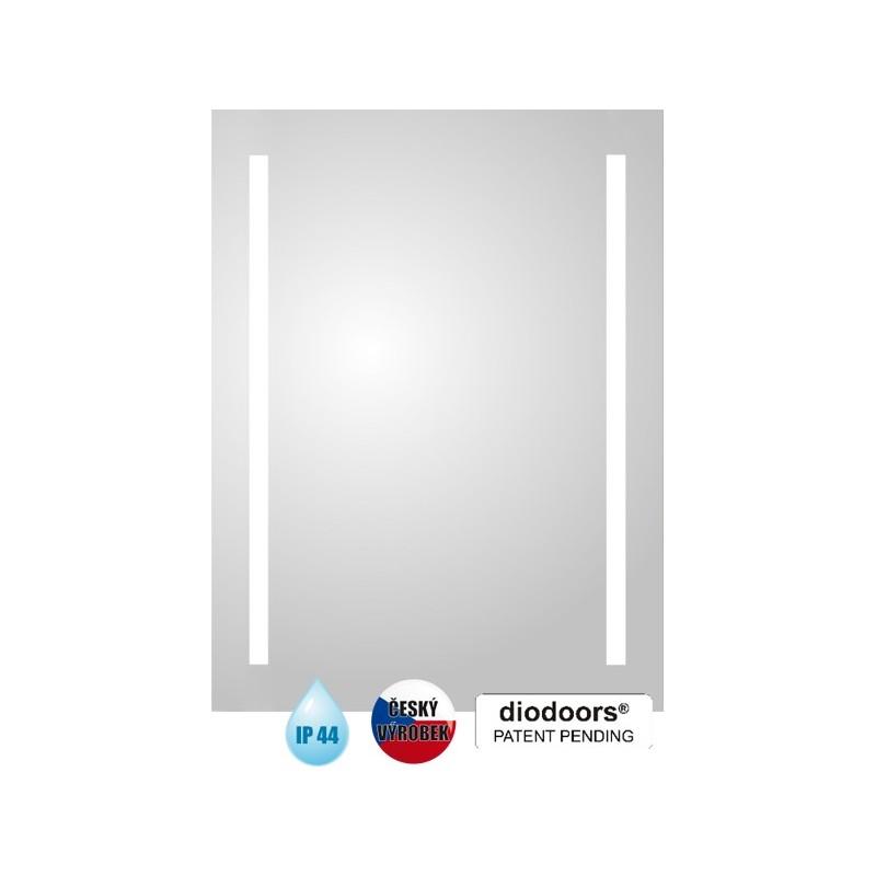 Koupelnové zrcadlo LABE - 800 × 600 x 29 mm (v × š x h) HOPA