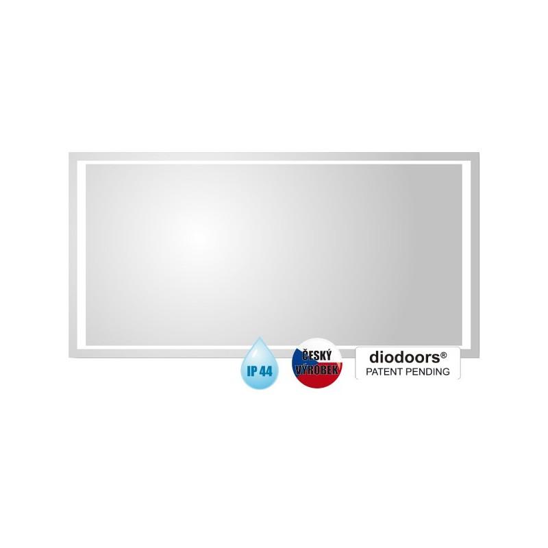 Koupelnové zrcadlo VLTAVA - 800 × 600 x 29 mm (v × š x h) HOPA
