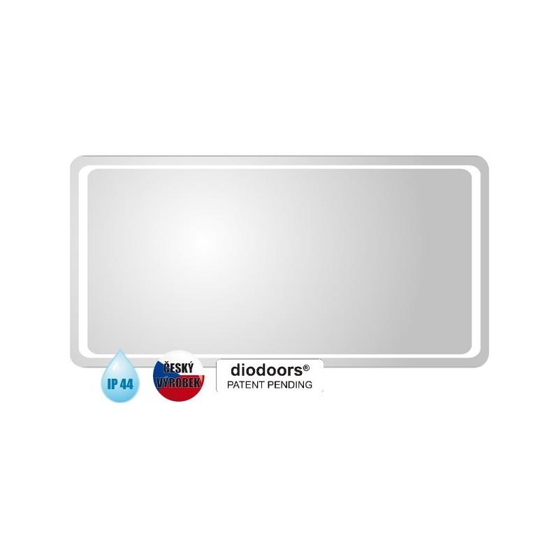 Koupelnové zrcadlo ODRA - 800 × 600 x 29 mm (v × š x h) HOPA