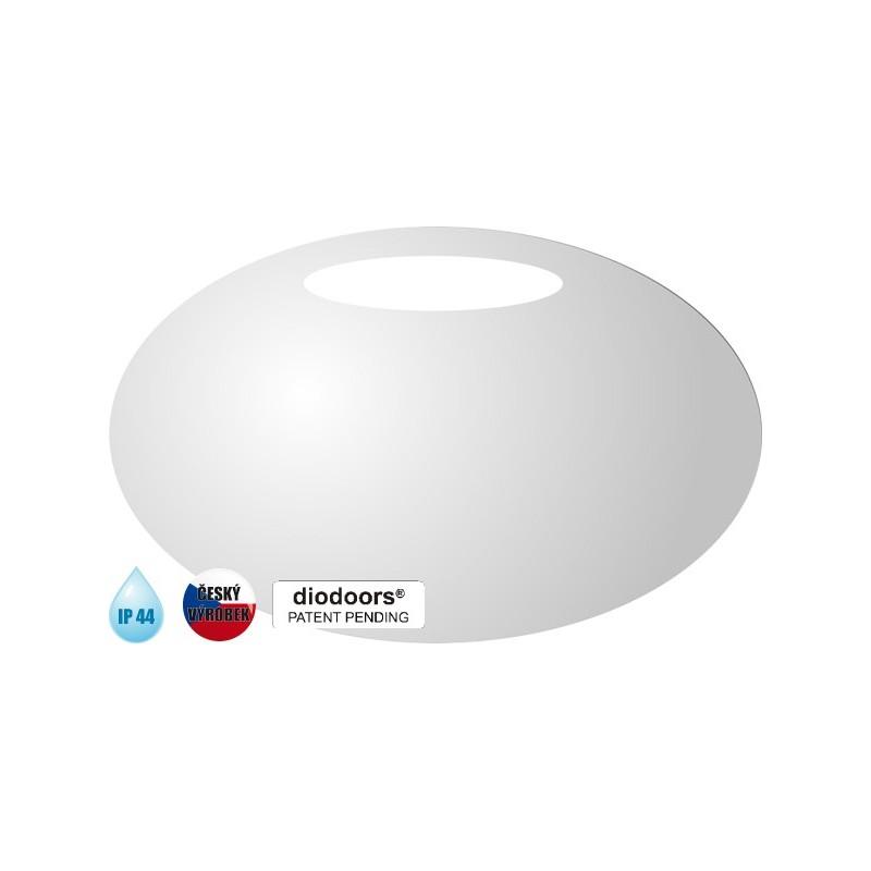 Koupelnové zrcadlo LUŽNICE - 500 × 700 x 29 mm (v × š × h) HOPA