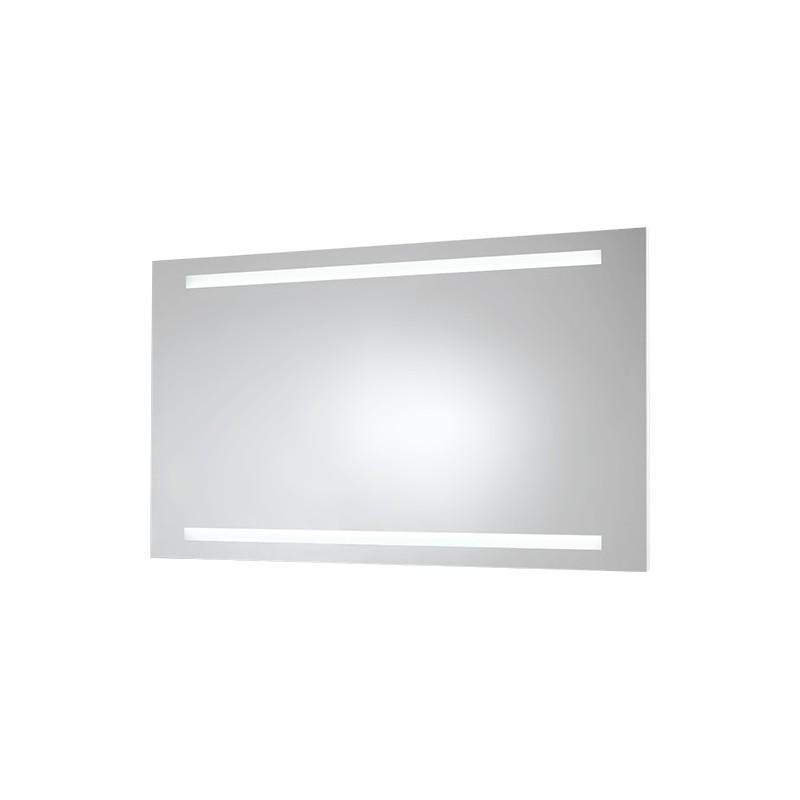 Zrcadlo s LED osvětlením NEŽÁRKA - 600 × 1200 mm