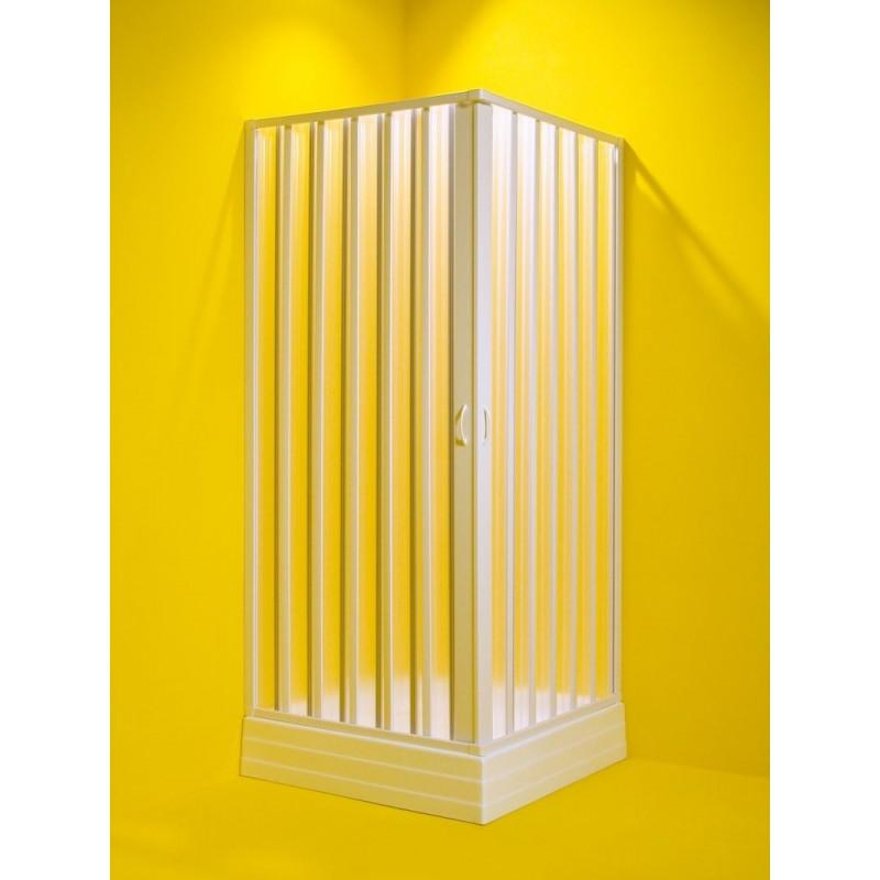 Čtvercový sprchový kout GIOVE - 80-60 × 80-60 × 185 cm, šířka vstupu 77 cm