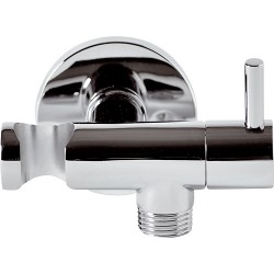 Vývod ze stěny s držákem sprchy RE336L