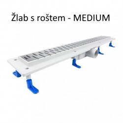 Odtokový žlab STANDARDline - MEDIUM