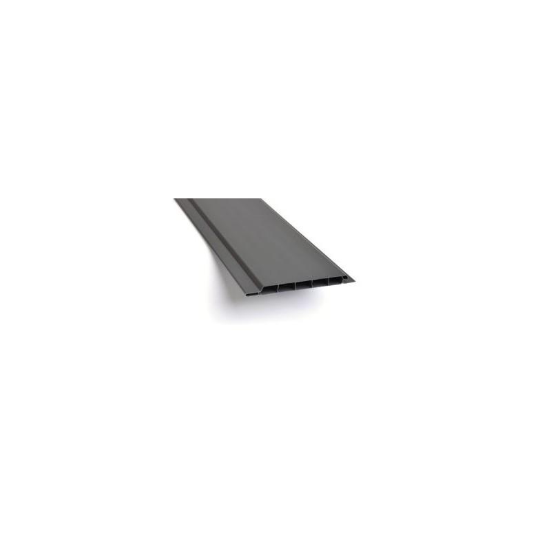 Univerzální plastový obklad - Grafit - šířka 10 cm - 1 m2 - nelze objednat