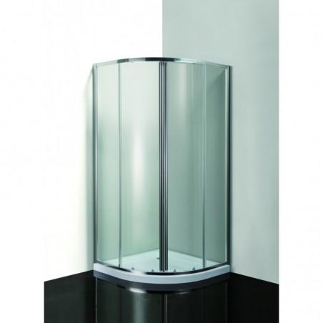VÝHODNÝ SET - čtrtkruhový sprchový kout Smart -  MURO s vaničkou