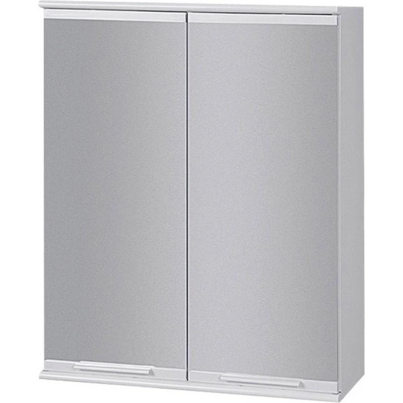 Závěsná skříňka se zrcadlem BASIC I, II - 46 × 40 × 15 cm