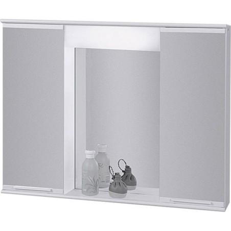 Závěsná skříňka se zrcadlem Lumix II, III