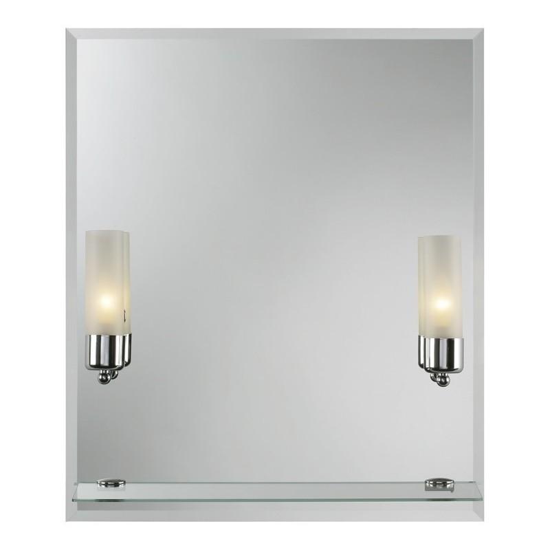 Zrcadlo s osvětlením Bernay - 50 × 65 cm