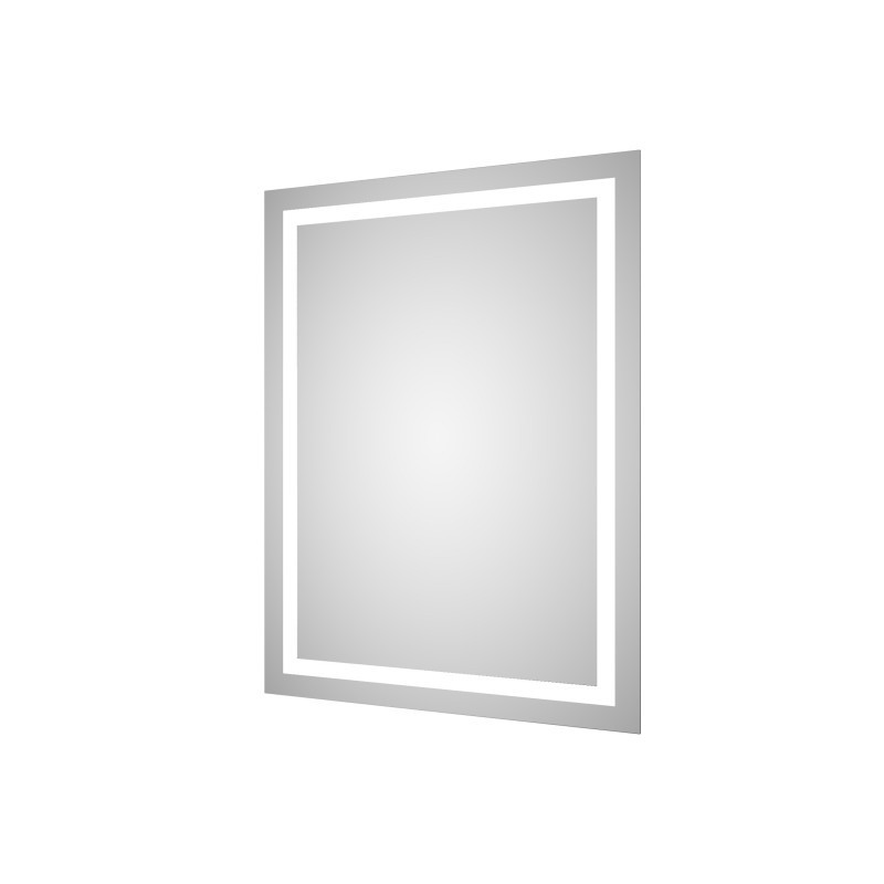 Zrcadlo s LED osvětlením Sours - 60 x 80 cm