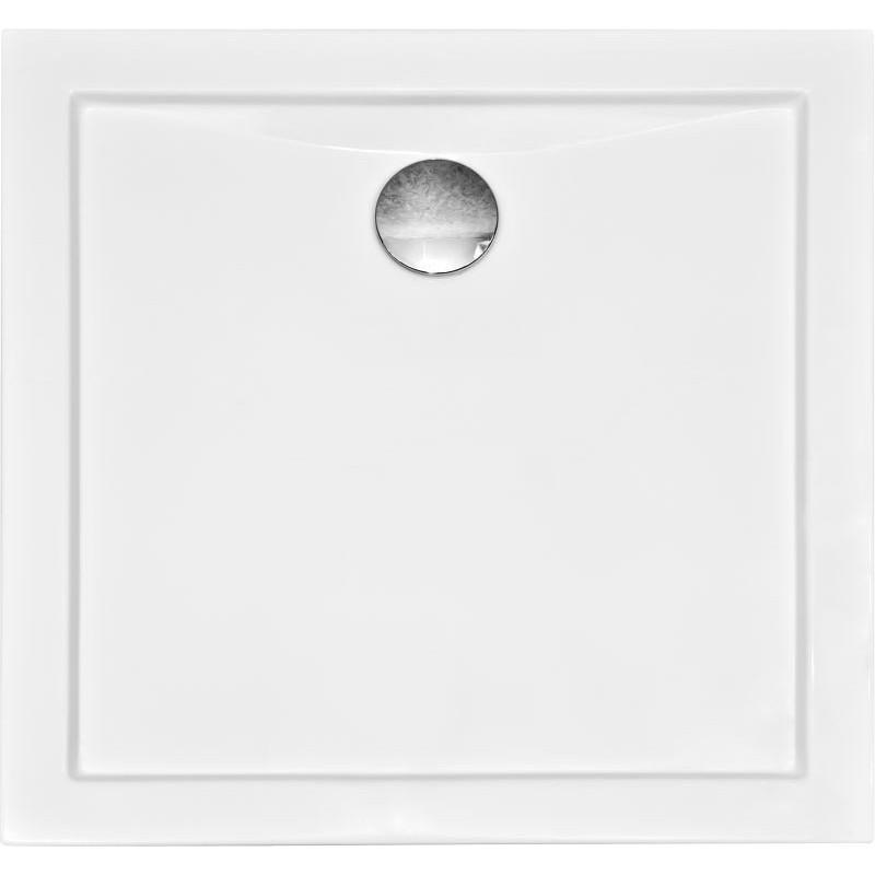 Čtvercová sprchová vanička AQUARIUS - 800 × 800 × 55 mm
