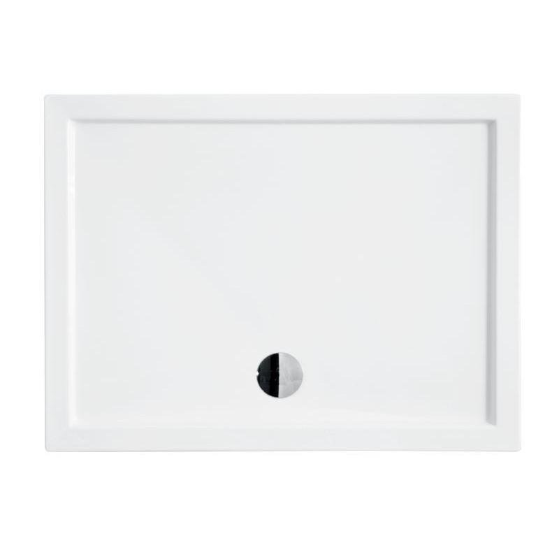 Obdélníková sprchová vanička ALPINA - 1000 × 800 × 55 mm