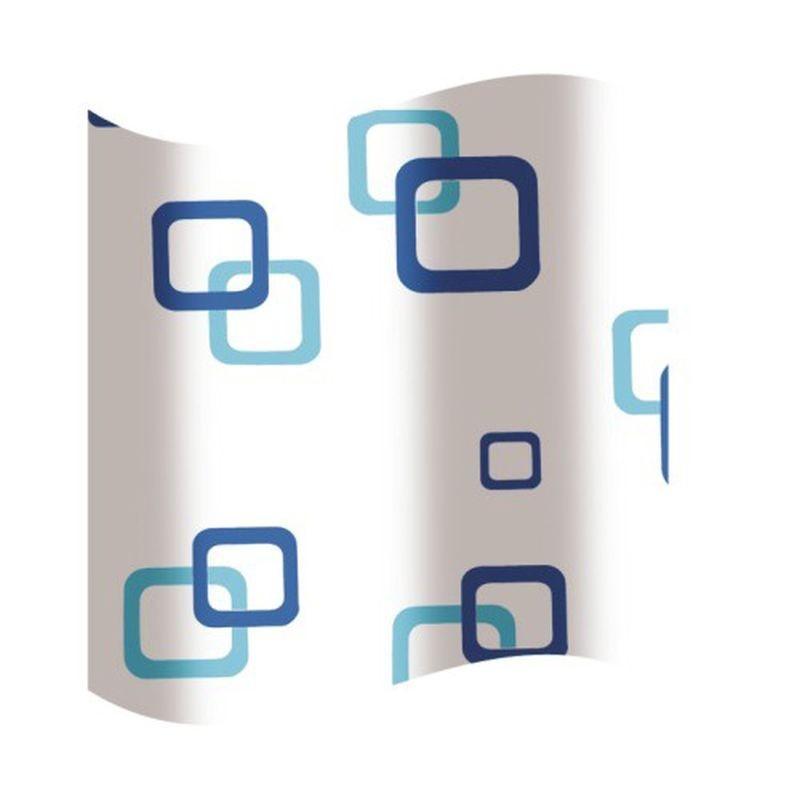 Koupelnový závěs plast KD02100533 - 180×180 cm, PEVA