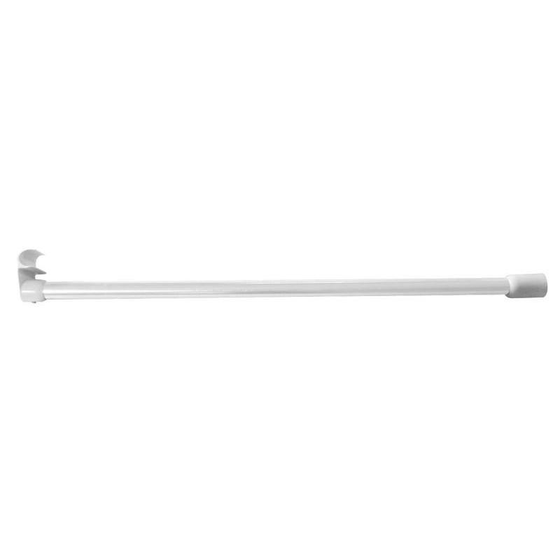 Držák závěsné tyče sprchového závěsu - do stropu