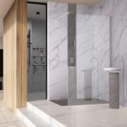 WALK-IN - bezdveřové sprchové kouty