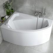 Asymetrické vany pro vaši koupelnu