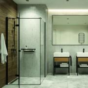 Sprchové kouty bez vaničky