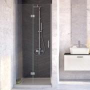 Sprchové zalamovací dveře